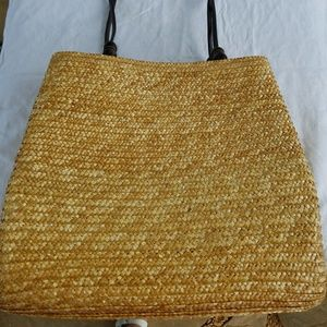 Handbags - Summer handbag, straw